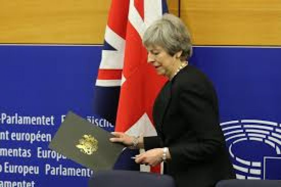 NO-GO FOR MAY'S LATEST BREXIT DEAL